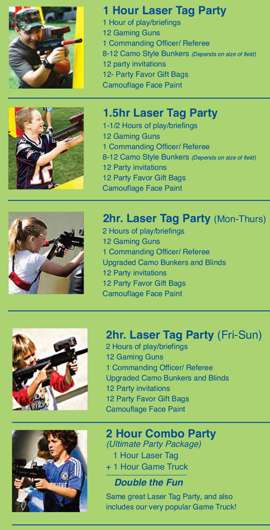 Games2Go Party :: Laser Tag